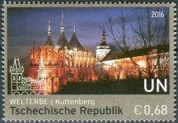 (2016) MiNr. 925 ** (€ 0,68,-) - OSN Vídeň - Světové dědictví - Kutná Hora