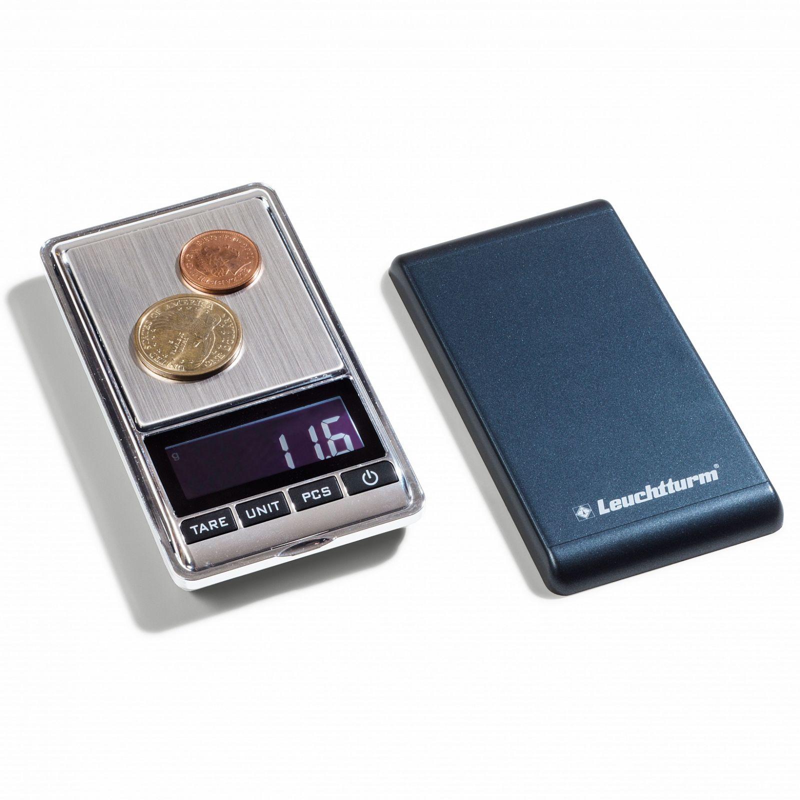 Leuchtturm DIGITÁLNÍ mincovní váha LIBRA MINI - 0,01 - 500 g