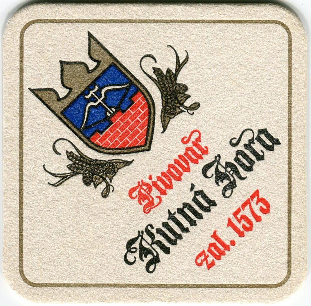 Kutná Hora - pivovar - zal. 1573 - tel.