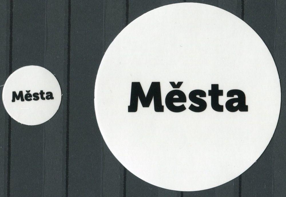 MAC Nálepky na alba na turistické medaile - nápis:
