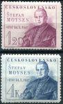 (1947) č. 460 - 461 ** - Československo - 150. výročí narození Š. Moysese