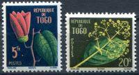 (1959) MiNr. 266 - 267 ** - Togo - květiny