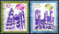 (1971) MiNr. 1700 - 1701 - O - DDR - Podzimní veletrh v Lipsku