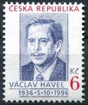 (1996) č. 124 ** (6 Kč ) - ČR - V. Havel