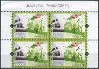 (2016) MiNr. 364 ** - 0,75 € - Portugalsko Madeira - 4-bl - Europa: Myslíme zeleně - s nápisem