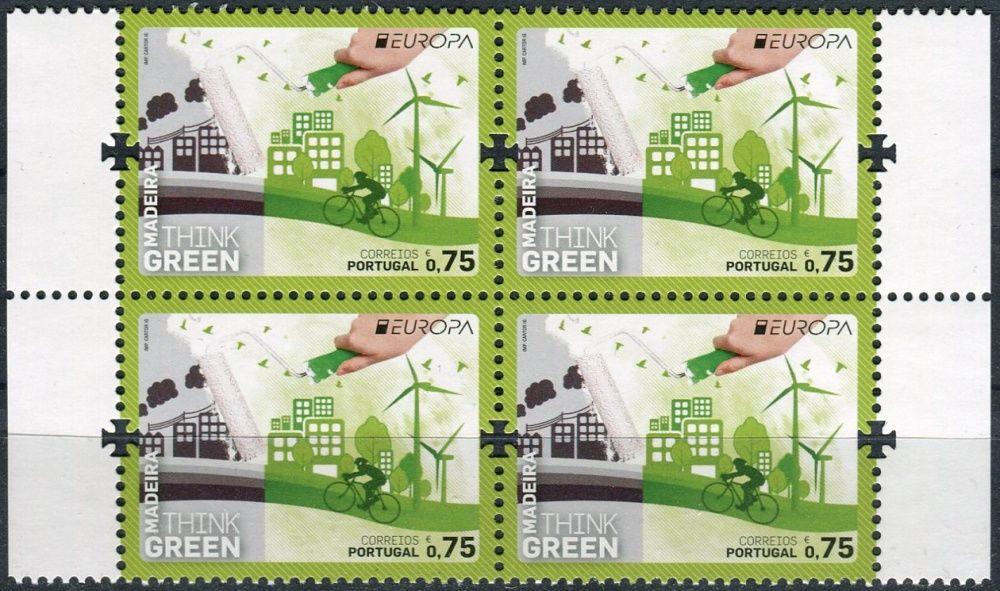 (2016) MiNr. 364 ** - 0,75 € - Portugalsko Madeira - 4-bl - Europa: Myslíme zeleně