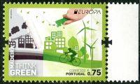 (2016) MiNr. 364 ** - 0,75 € - Portugalsko Madeira - Europa: Myslíme zeleně