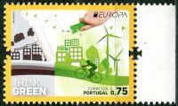 (2016) MiNr. 4134 ** - Portugalsko - Evropa: Myslíme zeleně