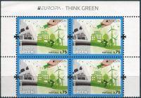 (2016) MiNr. 614  ** - 0,75 € - Portugalsko Azory - 4-bl - Europa: Myslíme zeleně - s nápisem