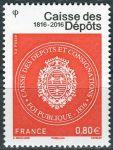(2016) MiNr. 6429 ** - € 0,80 - Francie -  200 let finanční úřad pro charitativní projekty