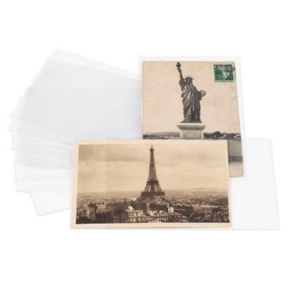 Leuchtturm 200 ks - Ochranné folie na pohlednice 150 x 107 mm