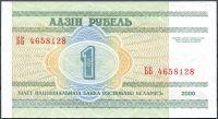 Bělorusko - (P21) 1 RUBL (2000) - UNC