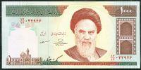 Irán - (P 143g) 1000 Rials (2013) - UNC