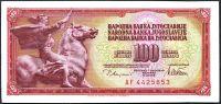 Jugoslávie - (P90a) 100 DINARA 1978 - UNC