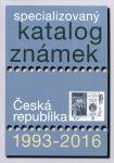 Katalog Česká republika 1993-2016 (antikvariát)