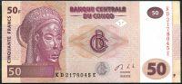 Kongo - (P 97b) 50 FRANCS (2013) - UNC