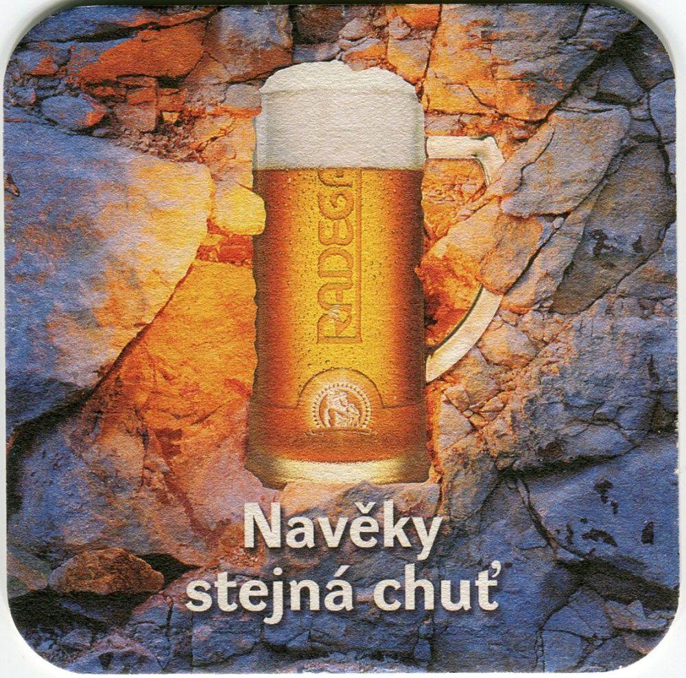 Nošovice - Pivovar Nošovice - Radegast - Navěky stejná chuť