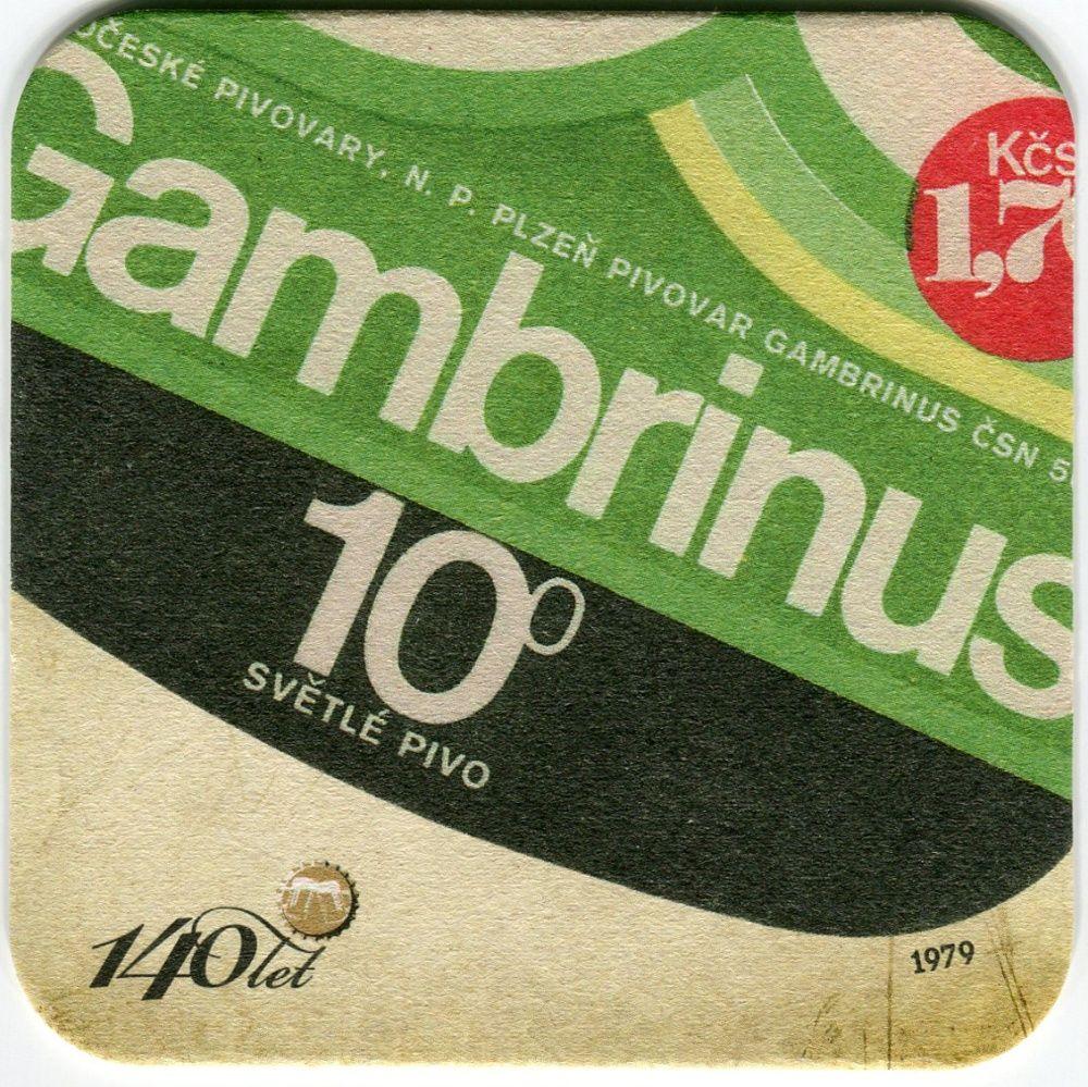 Plzeň - Gambrinus - 140 let Gambrinus - 10