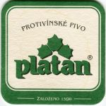 Protivín - pivovar - Platan - Protivínské pivo