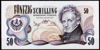(1970) Rakousko - (P 143) 50 Schilling (UNC)