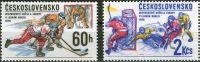 (1978) č. 2305 - 2306 ** - Československo - MS a ME v ledním hokeji v Praze