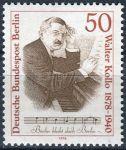 (1978) MiNr. 561 ** - Berlín - západní - 100. výročí narození Waltera Kollo