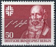 (1978) MiNr. 570 ** - Berlín - západní -200. narozeniny Friedricha Ludwiga Jahna