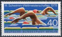 (1978) MiNr. 571 ** - Berlín - západní - Mistrovství světa v plavání, Berlín