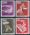 (1978) MiNr. 582 - 586 ** - Berlín - západní - Průmysl a technologie (II)