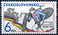 (1987) č. 2778 ** - Československo - Mistrovství světa v cyklokrosu 1987