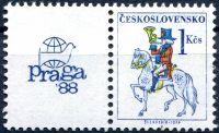 (1987) č. 2814 ** - KL - Československo - Poštovní emblémy - PRAGA