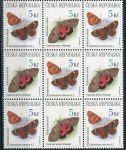 (1999) č. 211-212 ** - ČR - 9-bl - Ochrana přírody: ptáci, motýli