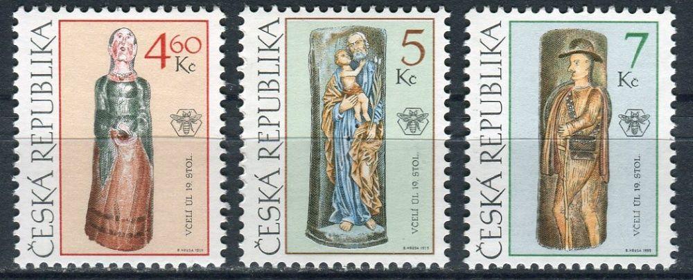 (1999) č. 229 - 231 ** - ČR - Lidové umění Včelí úly