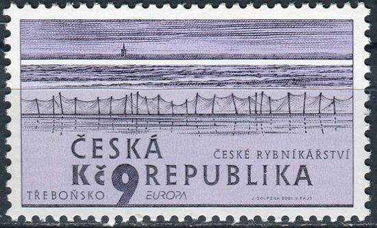(2001) č. 290 ** - Česká republika - EUROPA České rybníkářství