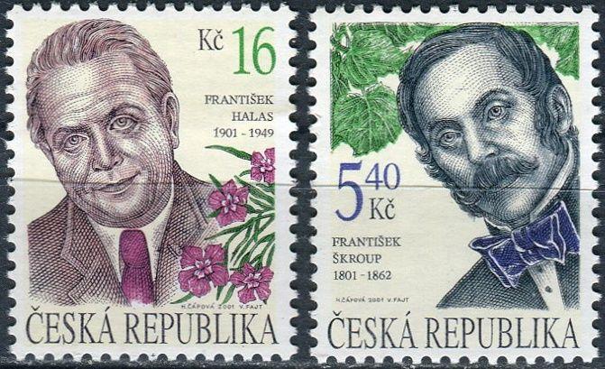 (2001) č. 293 - 294 ** - Česká republika -Osobnosti