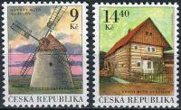 (2001) č. 306 - 307 ** - Česká republika - Technické památky Mlýny
