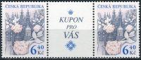 (2003) č. 354 ** - Česká republika - Růže nad Prahou - zn. + K1 + zn.