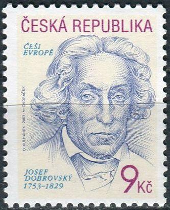 (2003) č. 363 ** - Česká republika - Češi Evropě Josef Dobrovský