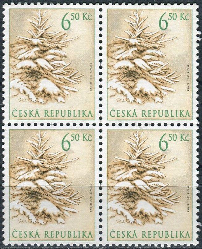 (2003) č. 386 ** - Česká republika - 4-bl - Vánoce
