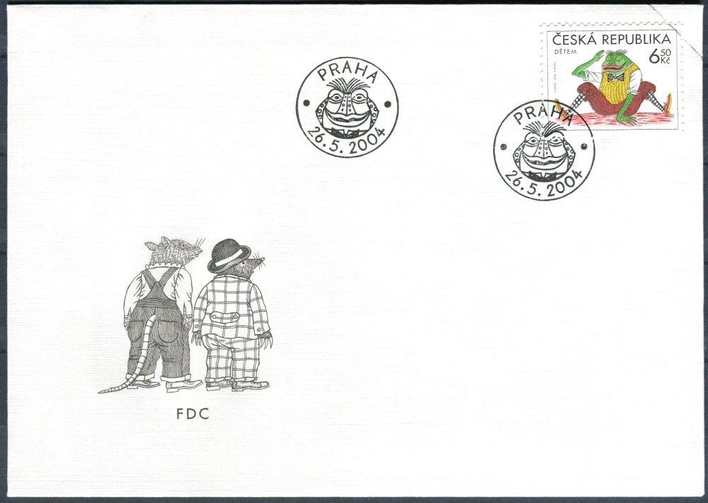 Česká pošta (2004) FDC 402 - Dětem - Žabák