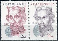 (2006) č. 476 - 477 ** - ČR - 2-bl  - Dědiční králové z rodu Přemyslovců