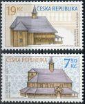 (2006) č. 490 - 491 ** - Česká republika - Dřevěné kostelíky