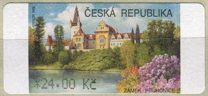 (2008) AU4-1 ** - Průhonice (24,-Kč) Česká pošta