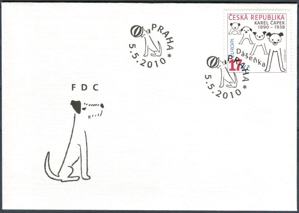 Česká pošta (2010) FDC 632 - EUROPA - Dášenka