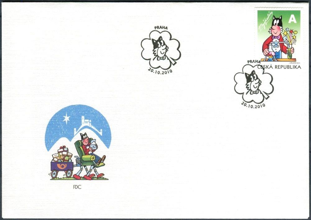 Česká pošta (2010) FDC 660 - Čtyřlístek - Myšpulín