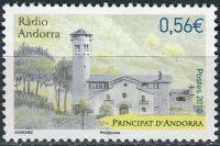 (2010) MiNr. 716 ** - Andora (Fr.) - rádio Andorra