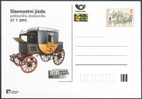 (2013) CDV 130 ** - PM 94 - Slavnostní jízda poštovního dostavníku