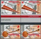 (2014) MiNr. 1001 - 1102 ** - Bělorusko - 2-bl - Europa: nástroje lidové hudby