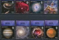 (2015) MiNr. 1905 - 1912 ** - Jersey - 25 let Hubbleův teleskop