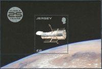 (2015) MiNr. 1913 ** - Jersey - BLOCK 124 - 25 let Hubbleův teleskop